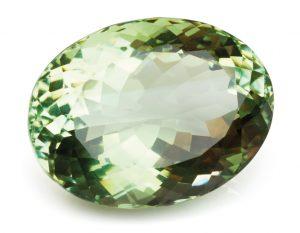 Amethyst, grün